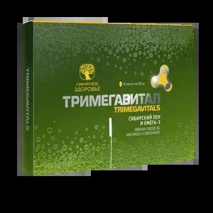 Сибирский лен и омега-3 — Тримегавитал