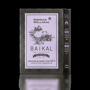 Фиточай из диких трав № 5 (Комфортное пищеварение) — Baikal Tea Collection